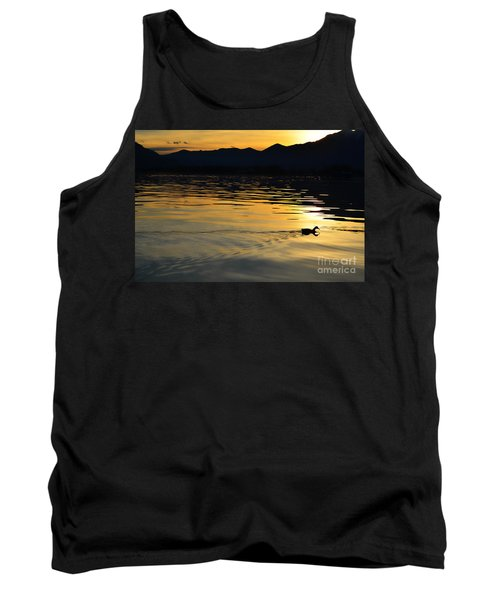 Duck Swimming Tank Top