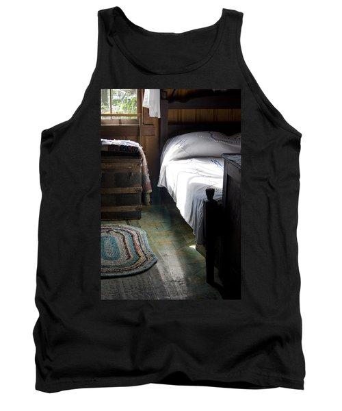 Tank Top featuring the photograph Dudley Farmhouse Interior No. 1 by Lynn Palmer