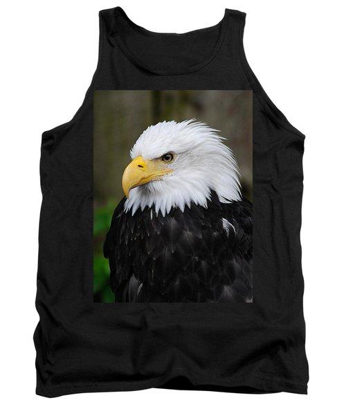 Eagle In Ketchikan Alaska 1371 Tank Top