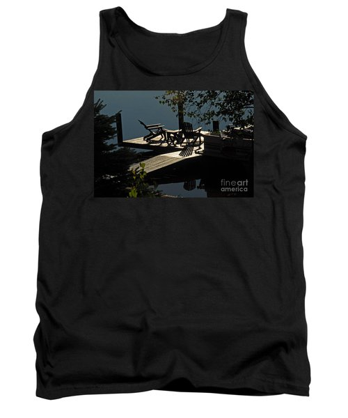 Tank Top featuring the photograph Early Morning At The Lake by Cindy Manero