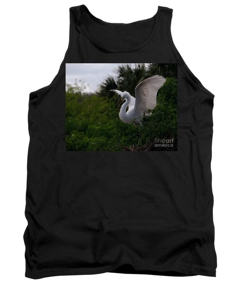 Egret Wings Tank Top