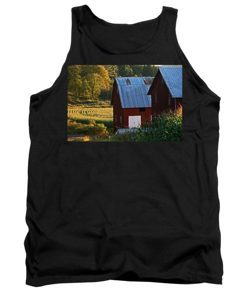 Fall Barns Tank Top