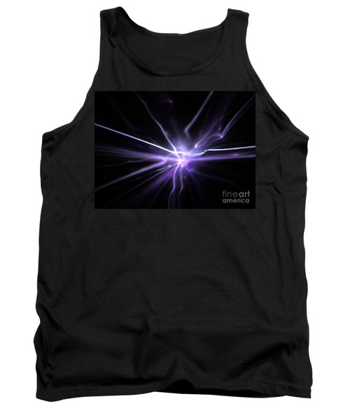 Tank Top featuring the digital art Firefly by Kim Sy Ok