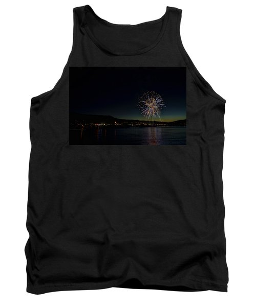Fireworks On The River Tank Top