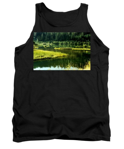 Fishing The Still Water Tank Top