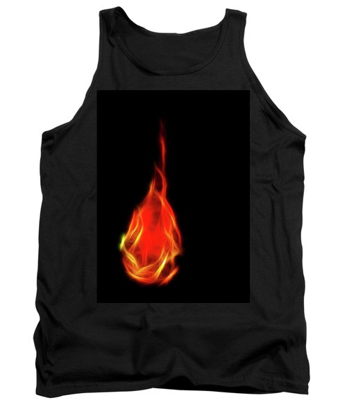 Flaming Tear Tank Top