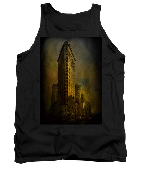 Flatiron Building...my View..revised Tank Top by Jeff Burgess