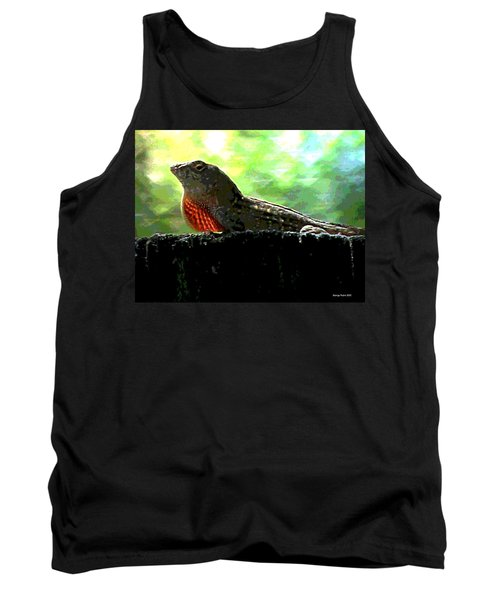 Tank Top featuring the photograph Florida Dinosaur by George Pedro