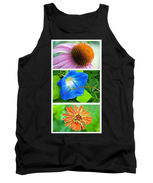 Flower Collage Part Two Tank Top