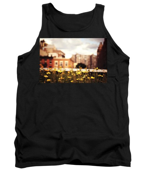 Flowers - High Line Park - New York City Tank Top by Vivienne Gucwa