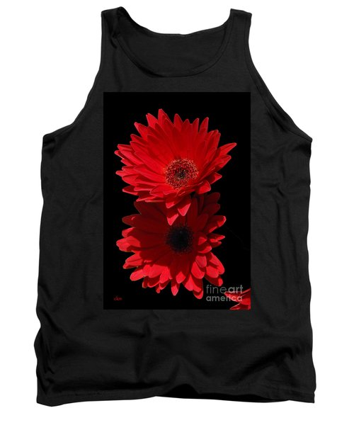 Tank Top featuring the photograph Flowers From My Son by Cindy Manero