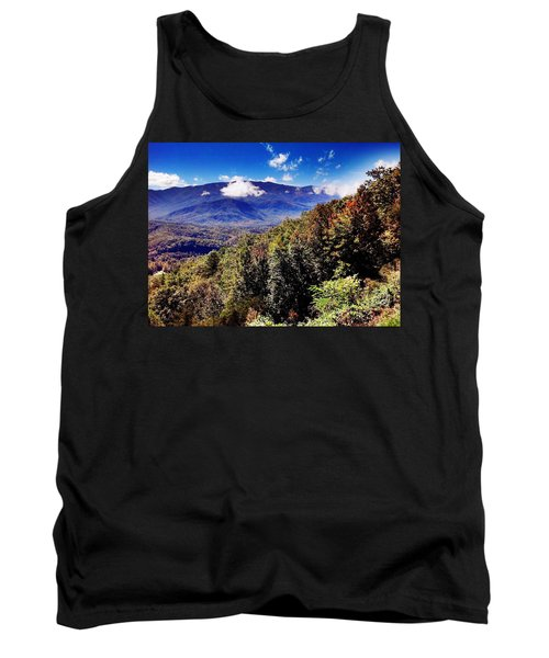 Tank Top featuring the photograph Foothills Parkway Tennessee by Janice Spivey