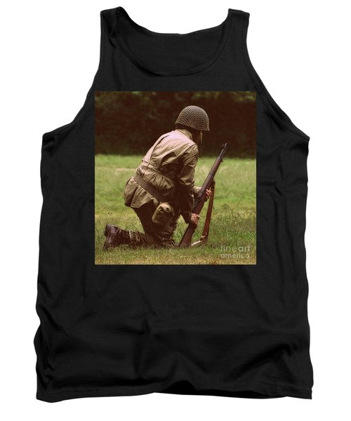 Tank Top featuring the photograph For Freedom by Lydia Holly
