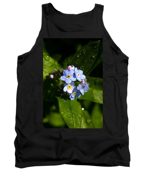 Forget Me Not Tank Top by Ralph A  Ledergerber-Photography