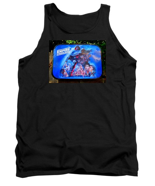 Found Lunch Box Tank Top by John King