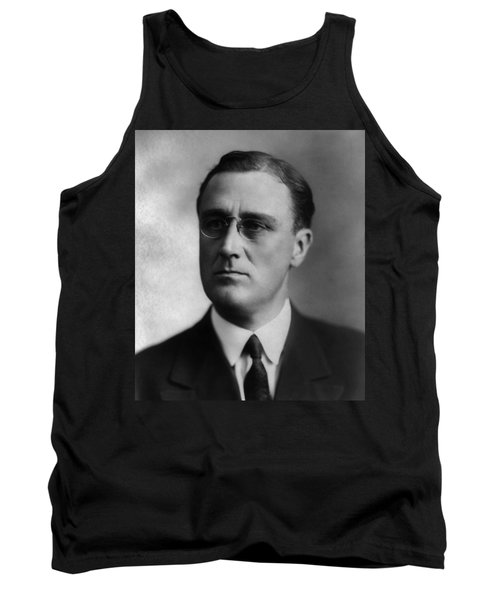 Tank Top featuring the photograph Franklin Delano Roosevelt by International  Images