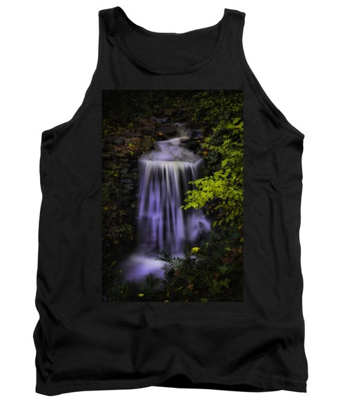 Tank Top featuring the photograph Garden Falls by Lynne Jenkins