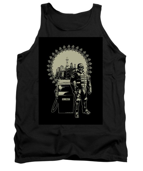 Gas Riot  Tank Top by Tony Koehl