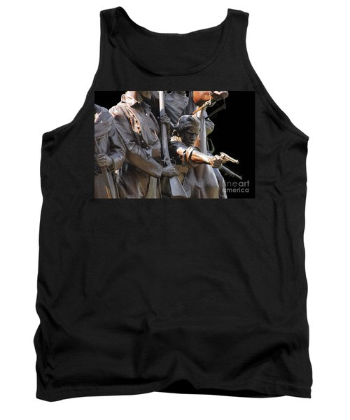 Tank Top featuring the photograph Gettysburg Monument by Cindy Manero
