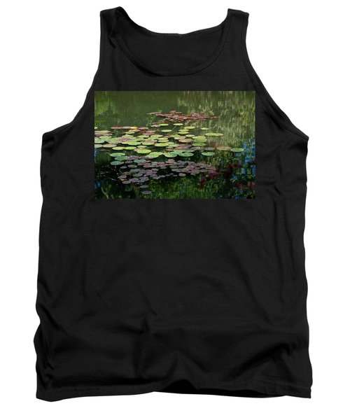 Giverny Lily Pads Tank Top by Eric Tressler