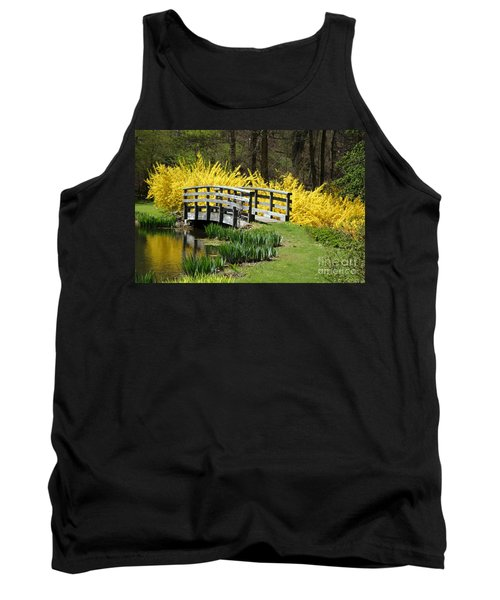 Golden Days Of Spring Tank Top by Living Color Photography Lorraine Lynch