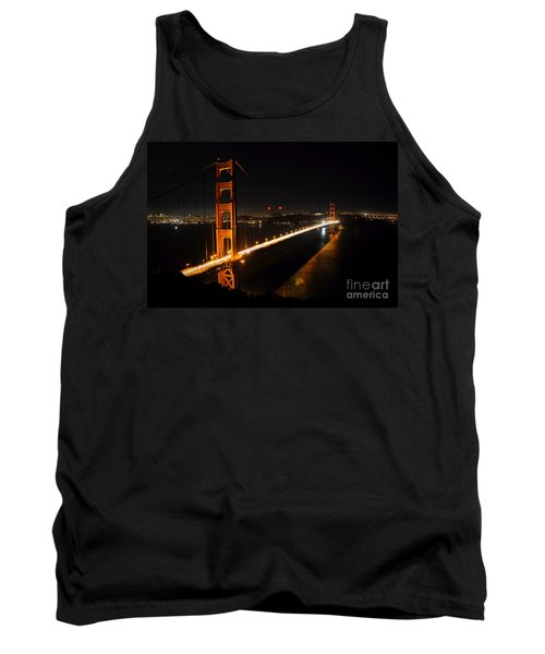 Golden Gate Bridge 2 Tank Top by Vivian Christopher
