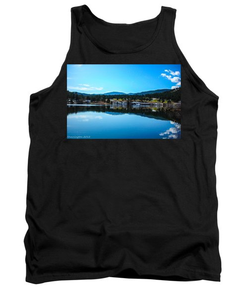 Tank Top featuring the photograph Golf Course by Shannon Harrington