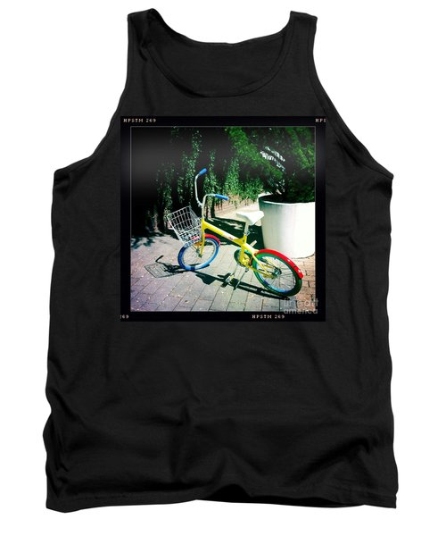 Tank Top featuring the photograph Google Mini Bike by Nina Prommer