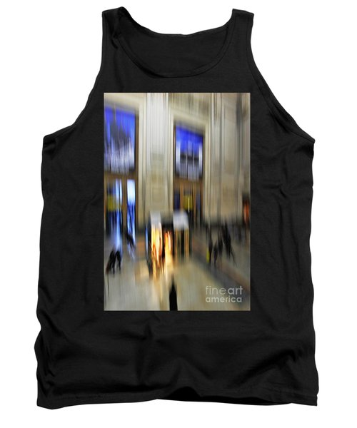 Tank Top featuring the photograph Grand Central Station Italian Style by Andy Prendy