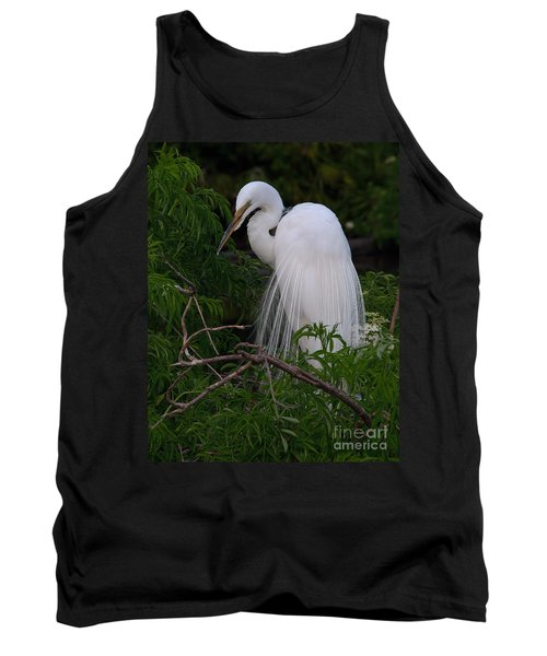 Great Egret Nesting Tank Top
