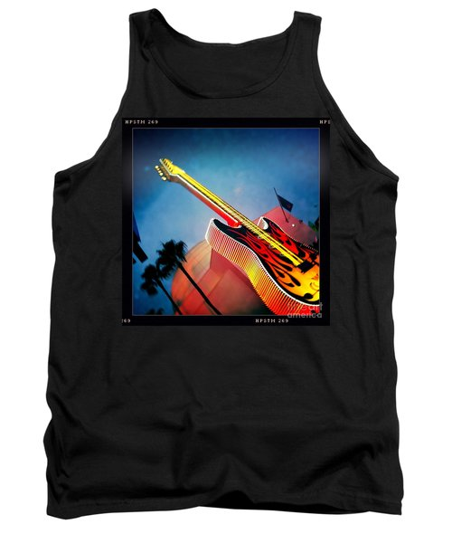 Tank Top featuring the photograph Hard Rock Guitar by Nina Prommer