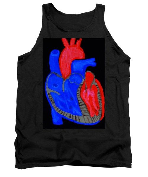Heart A Glow Tank Top by Lisa Brandel