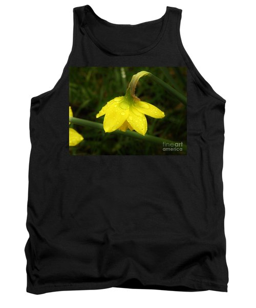 Tank Top featuring the photograph Heavy With Water by Sherman Perry