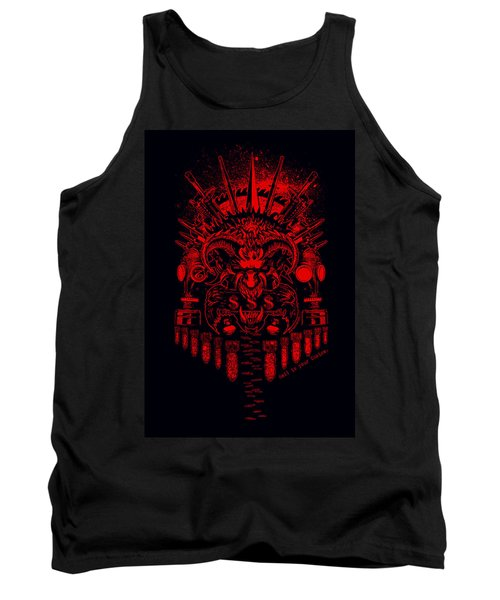 Hell Is Ur Choice Tank Top by Tony Koehl