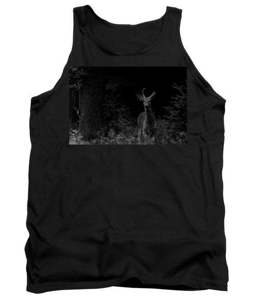 Tank Top featuring the photograph Hello Deer by Cheryl Baxter
