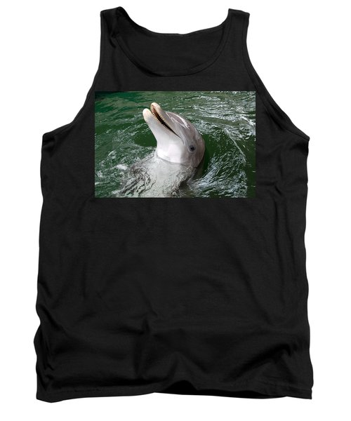 Tank Top featuring the photograph Hi by John Schneider