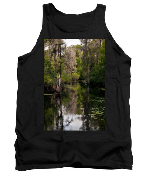 Tank Top featuring the photograph Hillsborough River In March by Steven Sparks