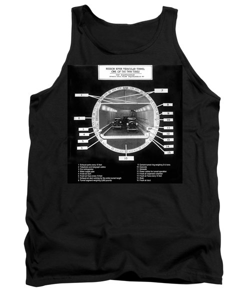 Holland Tunnel Section View Tank Top