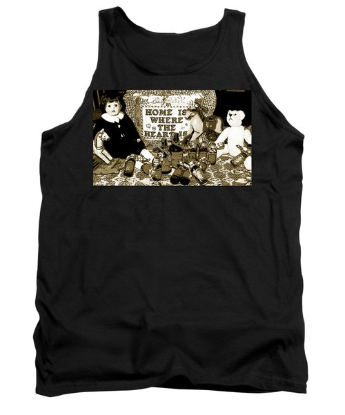 Tank Top featuring the photograph Home Americana Style by Pamela Hyde Wilson