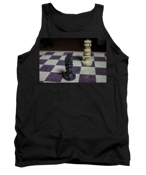 Tank Top featuring the photograph Horsing Around by Stephanie Nuttall