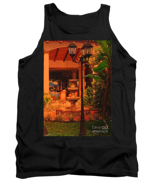 Tank Top featuring the photograph Hotel Alhambra by Lydia Holly