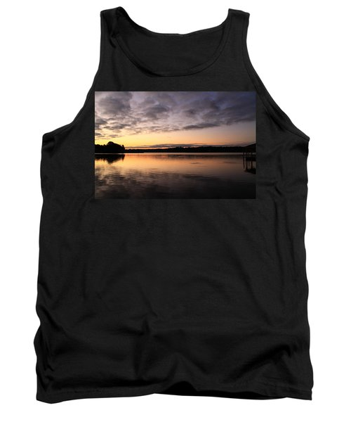 Hungry Fish At Sunrise Tank Top
