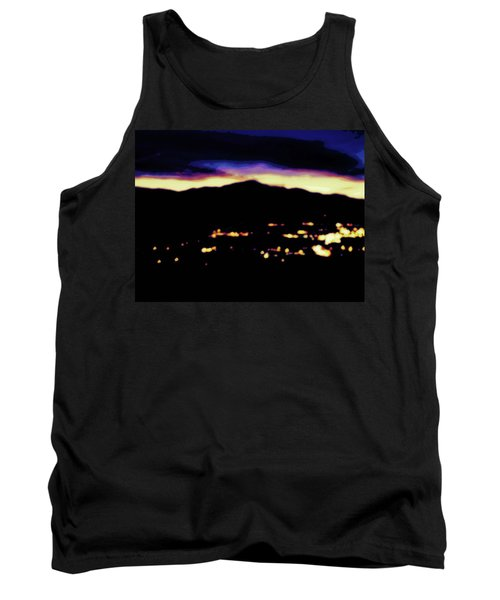 Tank Top featuring the photograph Impressionistic Pikes Peak by Clarice  Lakota