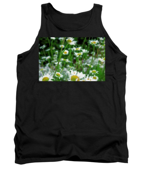 Tank Top featuring the mixed media Infiltrator by Terence Morrissey