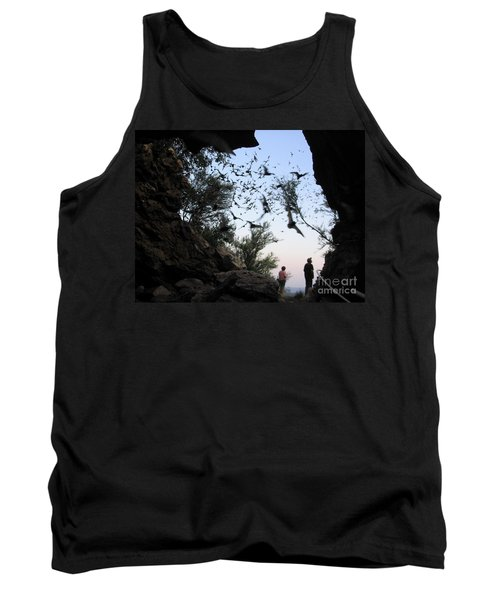 Inside The Bat Cave Tank Top