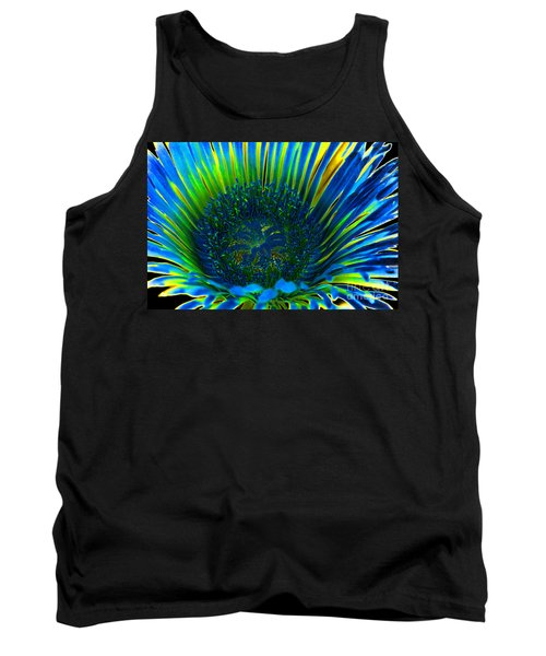 I've Got The Blues Tank Top by Mariola Bitner