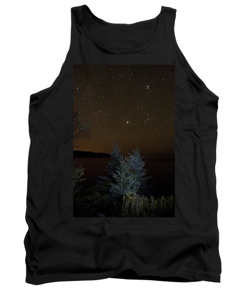 Jupiter  Over Otter Point 2 Tank Top by Brent L Ander