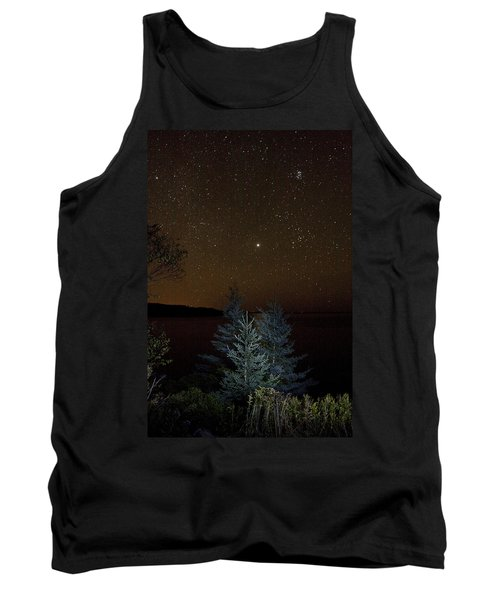 Jupiter  Over Otter Point 3 Tank Top by Brent L Ander