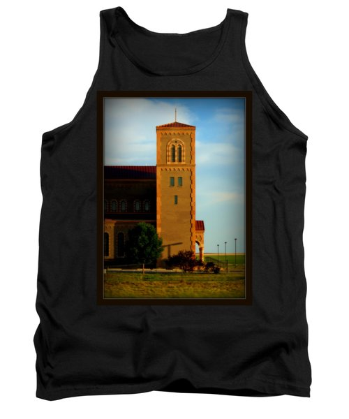 Kansas Architecture Tank Top by Jeanette C Landstrom