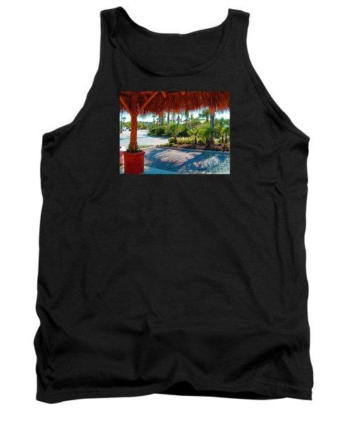 Kemah Boardwalk Tank Top by Fred Jinkins